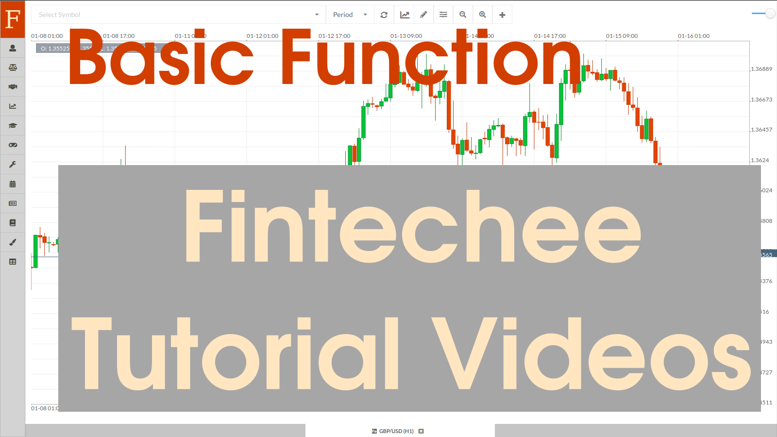 Tutorial for Forex trading is one of Fintechee's free services. This tutorial is about the basic functions of our WEB trader